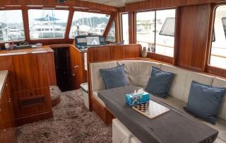 Le Tara yacht interior